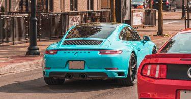 Porsche 911-aqua