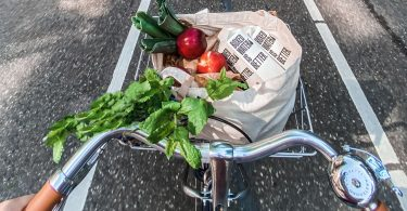 groenten-eten-fiets