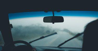 ruitenwissers-regen