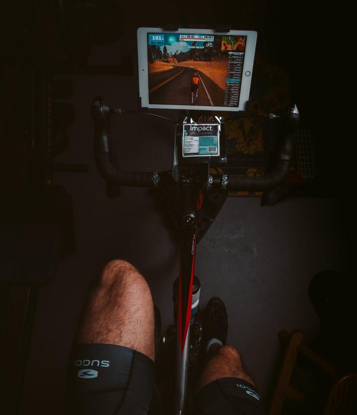 fiets-hometrainer-ipad