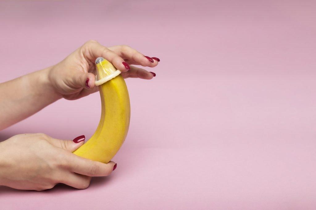 condoom-banaan