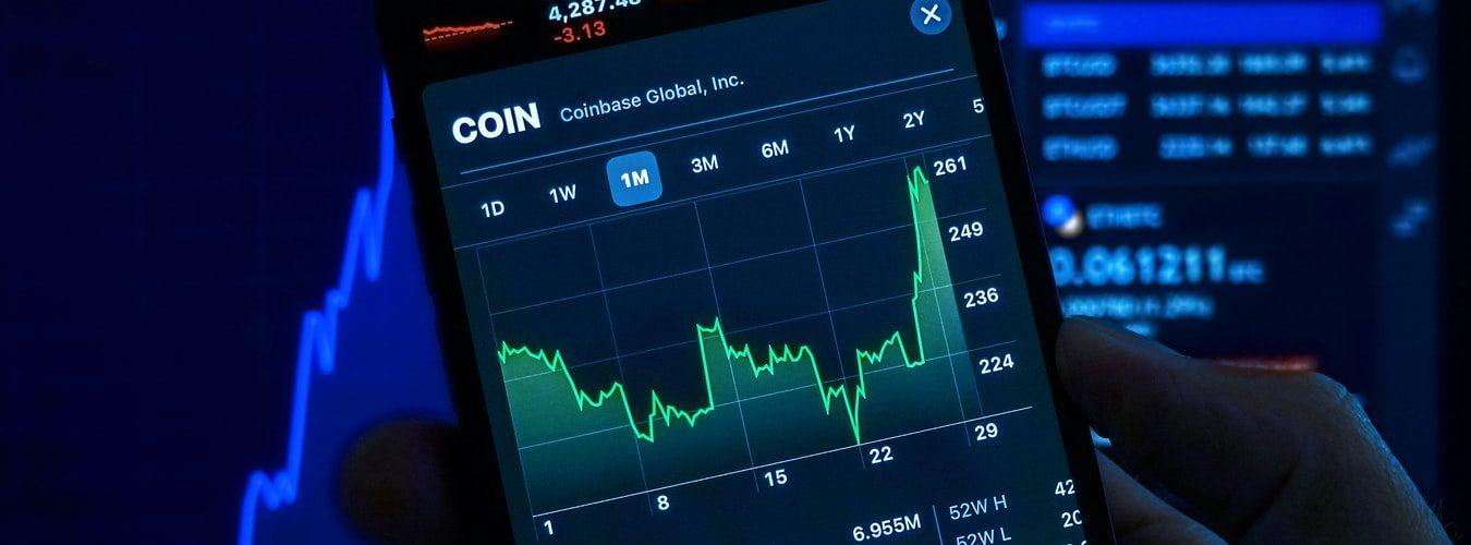 crypto-grafiek